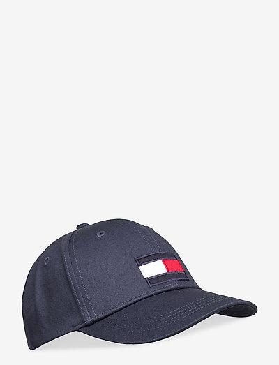 BIG FLAG CAP - huer & kasketter - twilight navy