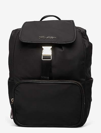 EASY TOMMY BACKPACK - laukut - black