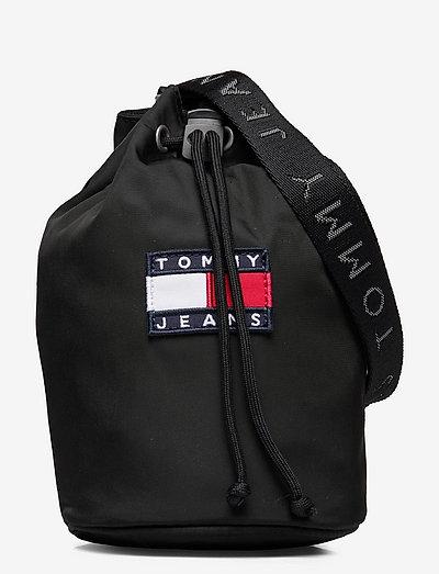 TJW HERITAGE SLING BAG - väskor - black