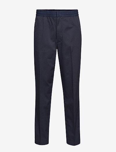 ACTIVE PANT TECH PIN - suit trousers - sky captain