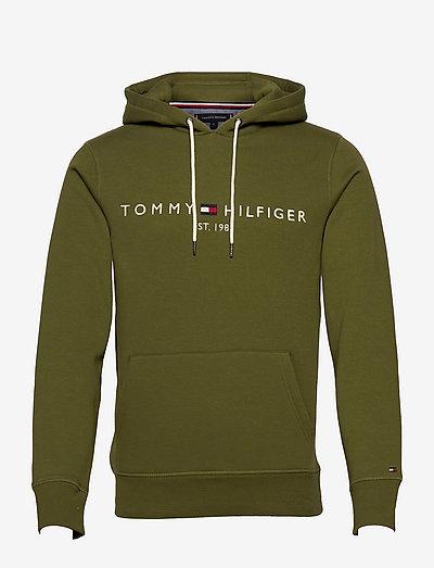 TOMMY LOGO HOODY - hættetrøjer - putting green