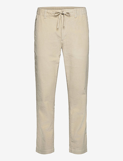 LH CHUNKY CORD PANTS - casual trousers - light silt