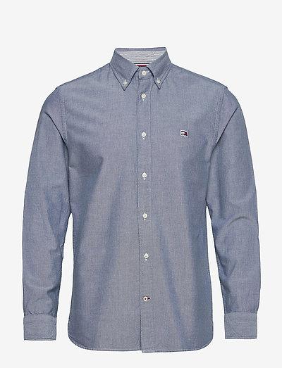 CLASSIC OXFORD SHIRT - rutiga skjortor - yale navy