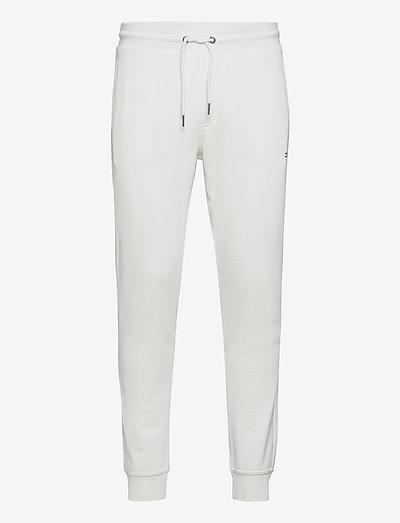 SWEATPANTS WITH PRINT - sweatpants - ecru