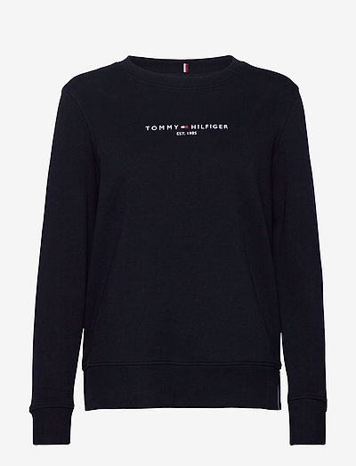 REGULAR HILFIGER C-NK SWEATSHIRT - sweatshirts en hoodies - desert sky