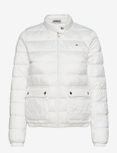 NYLON LW PADDED JACKET - down- & padded jackets - ecru