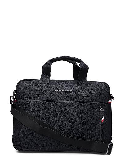 Essential Computer Bag Laptop-Tasche Tasche Schwarz TOMMY HILFIGER