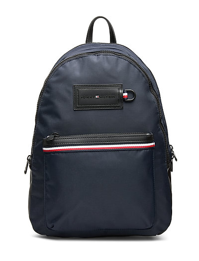 Modern Nylon Backpac Rucksack Tasche Blau TOMMY HILFIGER
