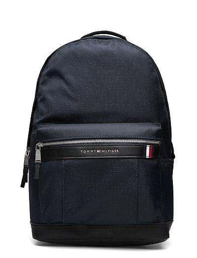 Elevated Nylon Backpack Rucksack Tasche Blau TOMMY HILFIGER