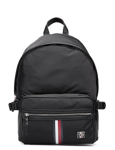 Clean Nylon Backpack Rucksack Tasche Schwarz TOMMY HILFIGER