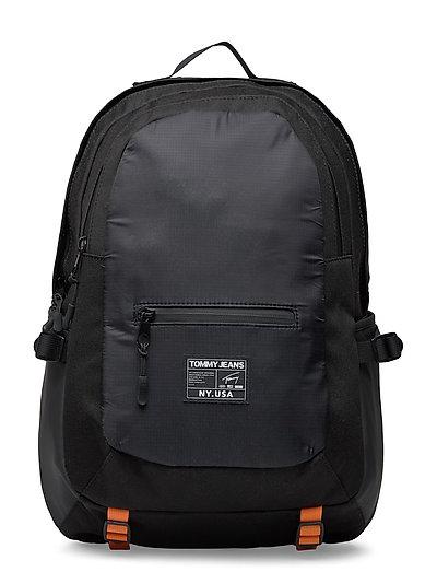 Tjm Urban Tech Backp Rucksack Tasche Schwarz TOMMY HILFIGER
