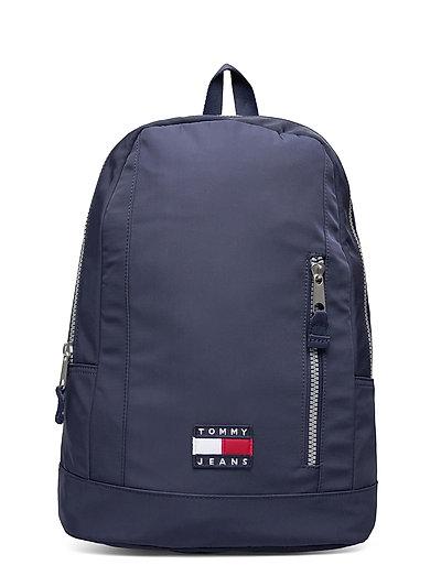 Tjm Heritage Dom Bac Rucksack Tasche Blau TOMMY HILFIGER
