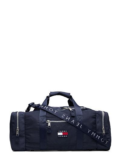 Tjm Heritage Duffle Nylon Bags Weekend & Gym Bags Blau TOMMY HILFIGER