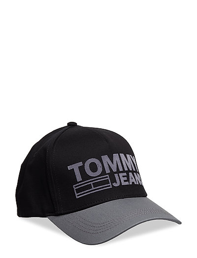 TJU LOGO CAP - BLACK MIX