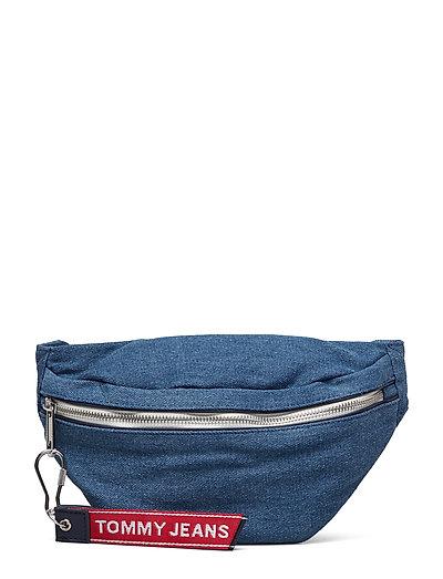 TOMMY HILFIGER Tju Logo Tape Bumbag Bum Bag Tasche Blau TOMMY HILFIGER