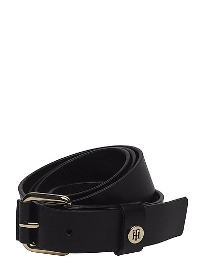 LEATHER COVERED BUCKLE 3.0 - BLACK