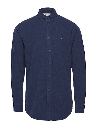 HEATHER CORDUROY SHIRT - SKY CAPTAIN HEATHER