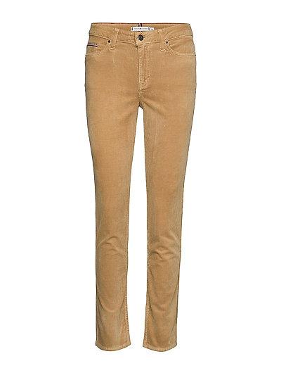 Rome Straight Rw Maya Straight Jeans Hose Mit Geradem Bein Beige TOMMY HILFIGER
