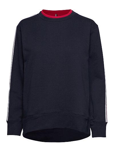 Raven C-Nk Sweatshirt Ls Sweat-shirt Pullover Blau TOMMY HILFIGER