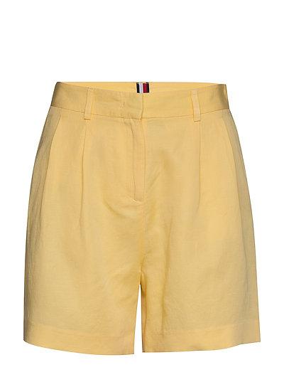 Linen Tencel Short Bermudashorts Shorts Gelb TOMMY HILFIGER