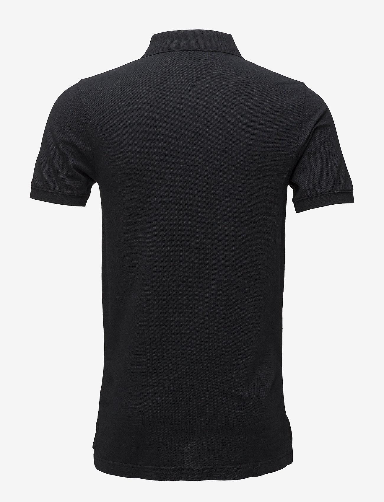 Tommy Jeans - TJM ORIGINAL FINE PIQUE POLO S/S - kortärmade pikéer - tommy black - 1