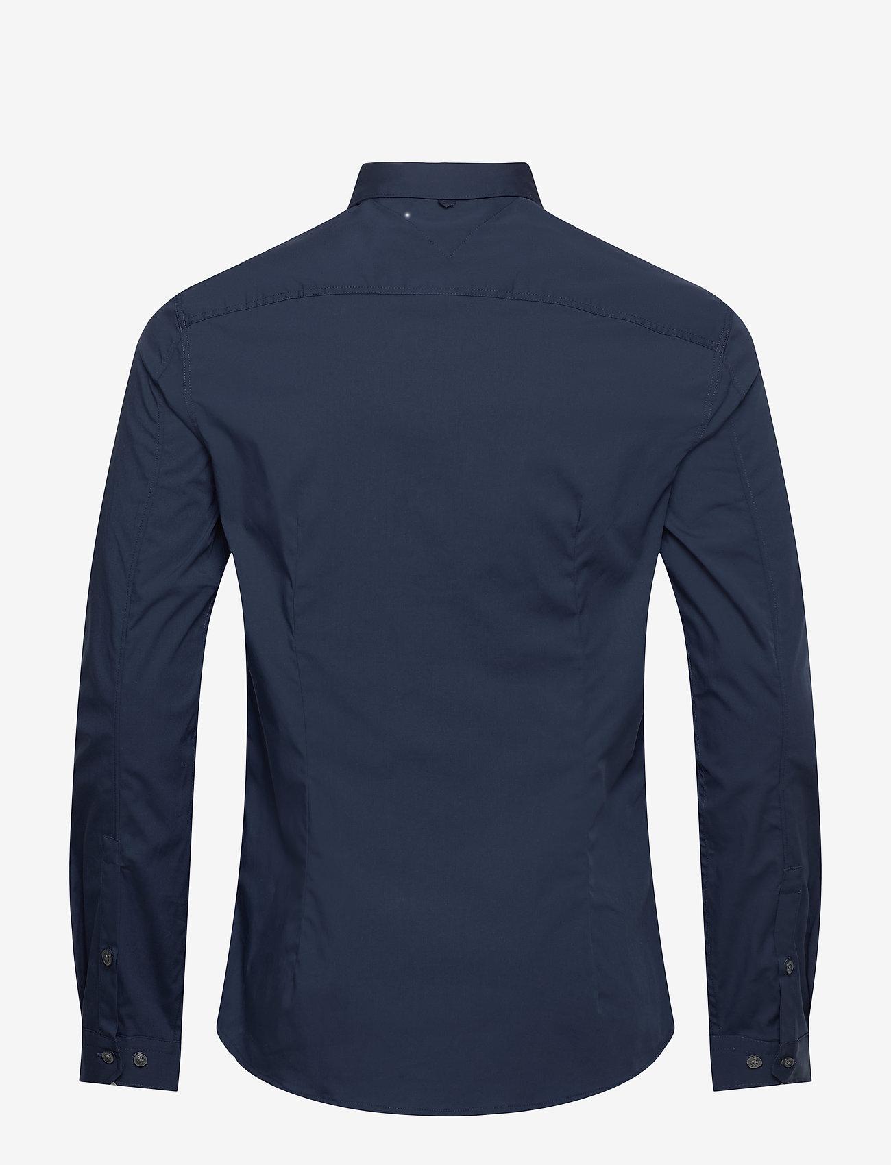Tommy Jeans - TJM ORIGINAL STRETCH SHIRT - business skjortor - black iris - 1