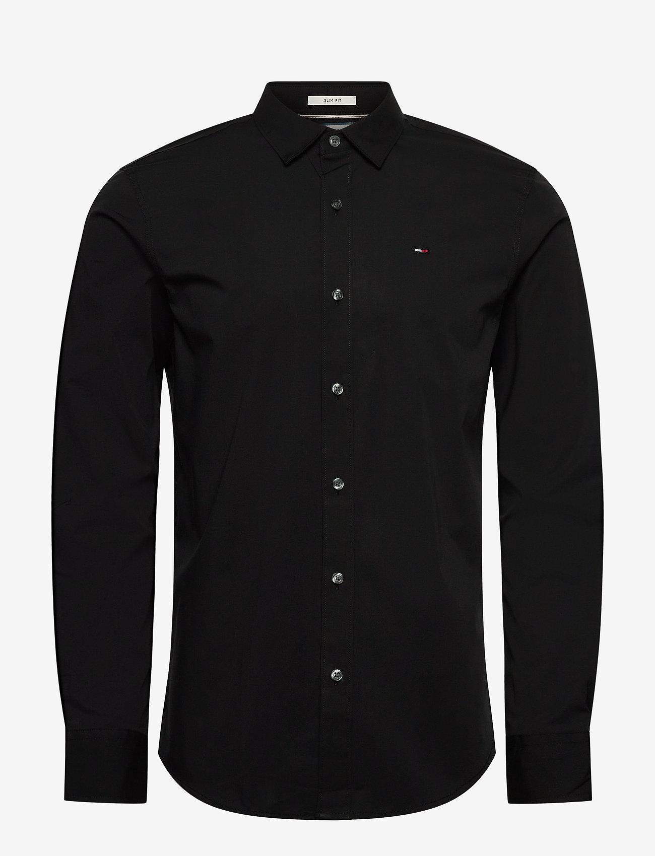 Tommy Jeans - TJM ORIGINAL STRETCH SHIRT - business skjortor - tommy black - 0