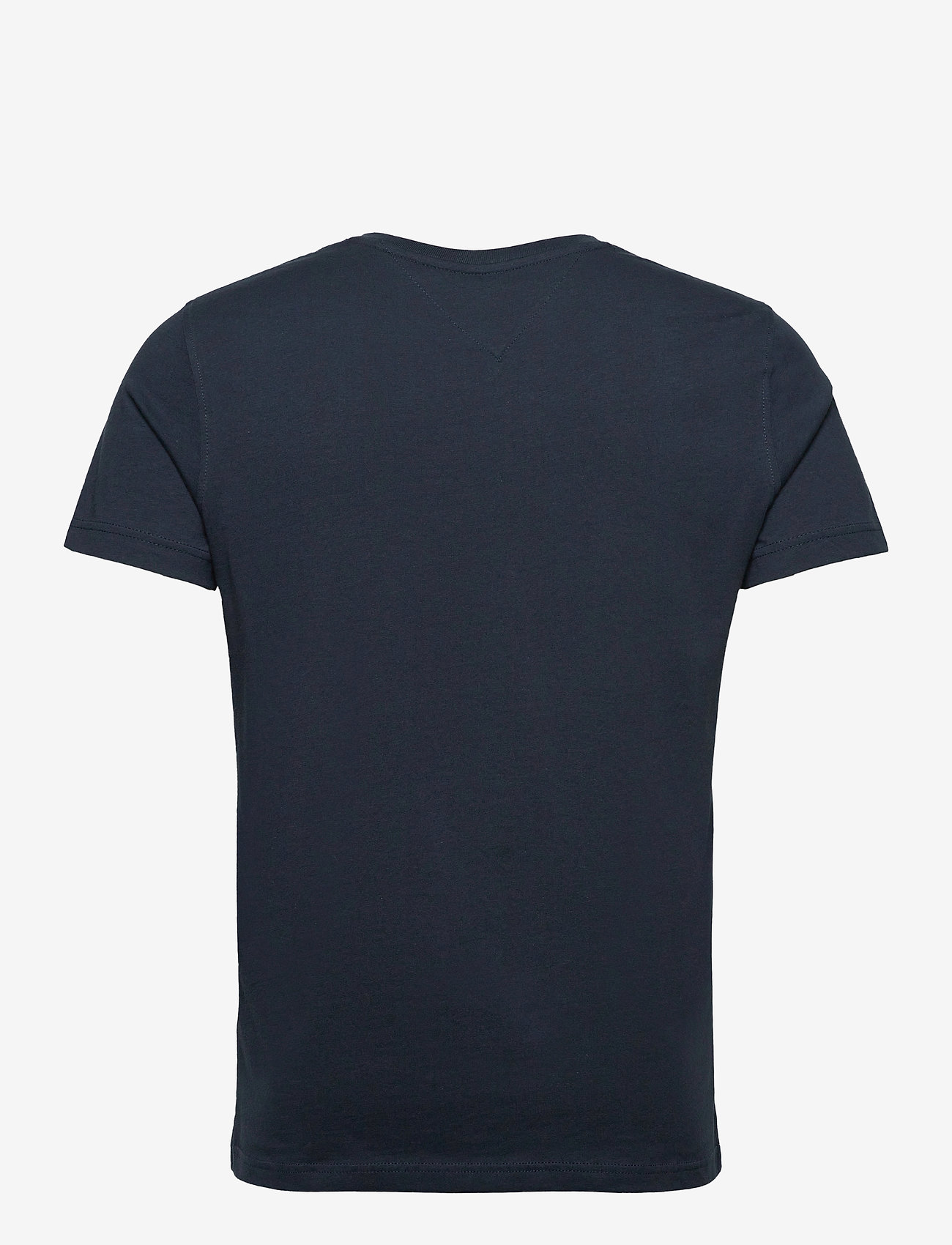 Tommy Jeans - TJM ORIGINAL JERSEY V NECK TEE - basic t-shirts - black iris - 1