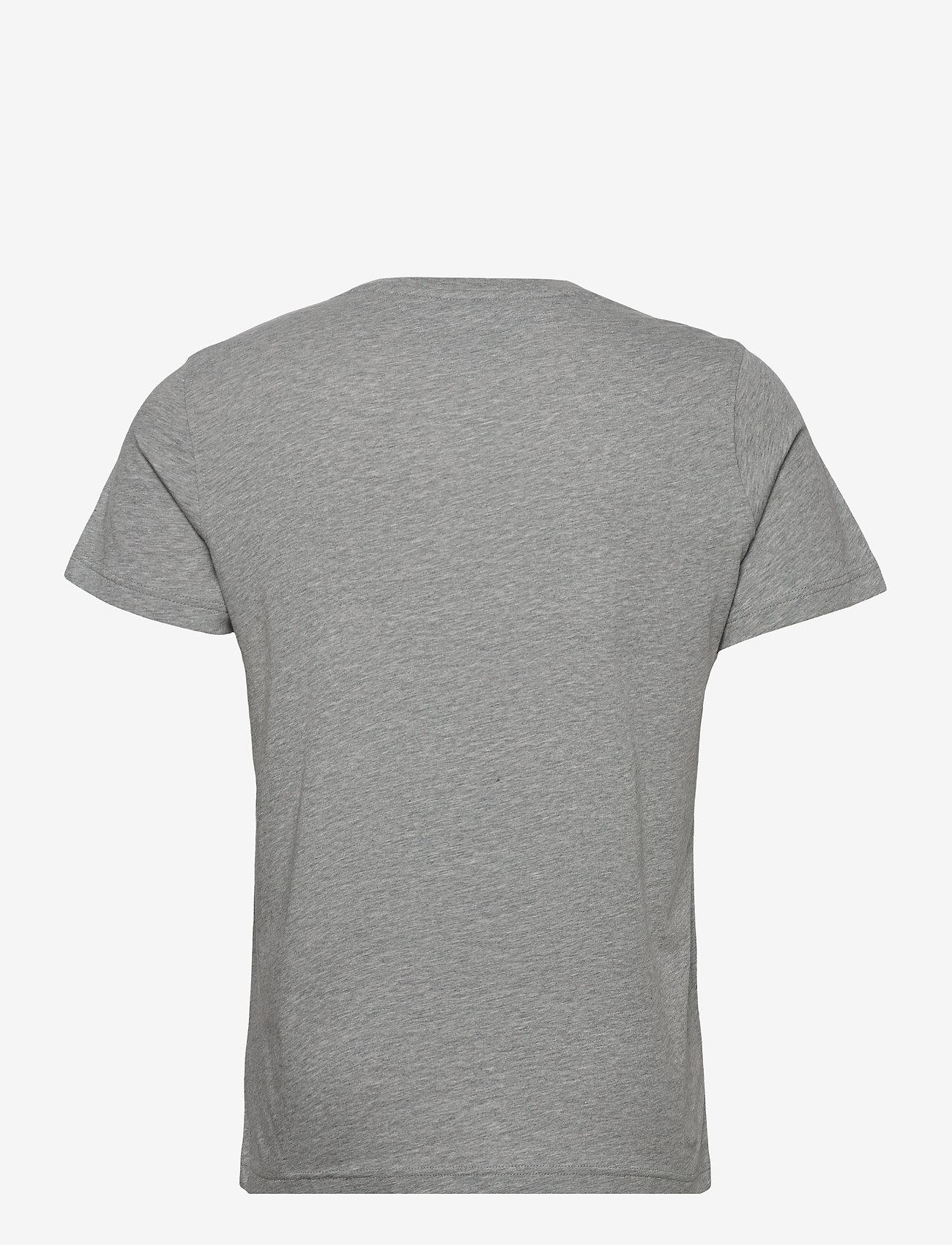 Tommy Jeans - TJM ORIGINAL JERSEY V NECK TEE - basic t-shirts - lt grey htr - 1
