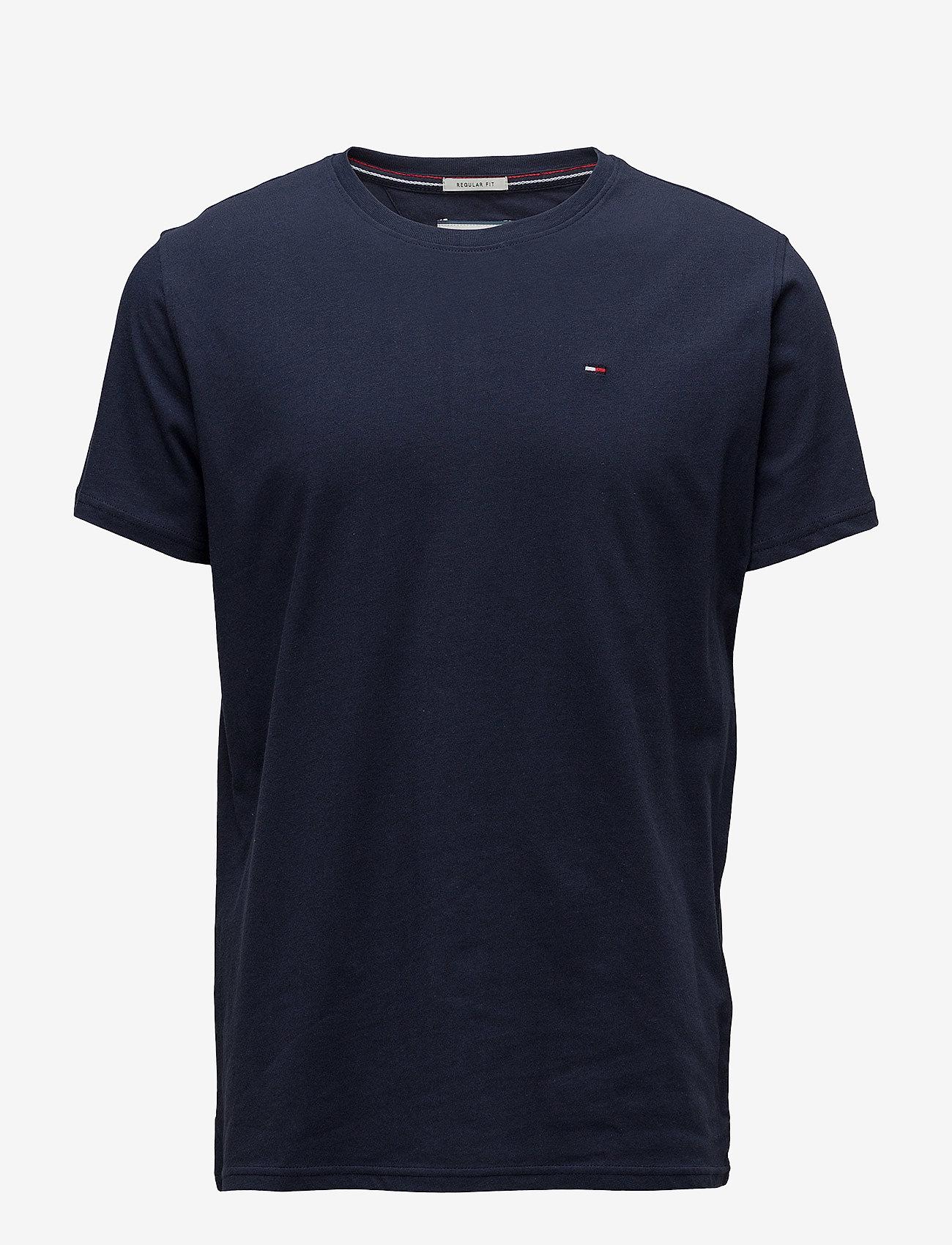 Tommy Jeans - TJM ORIGINAL JERSEY TEE - basic t-shirts - black iris - 0