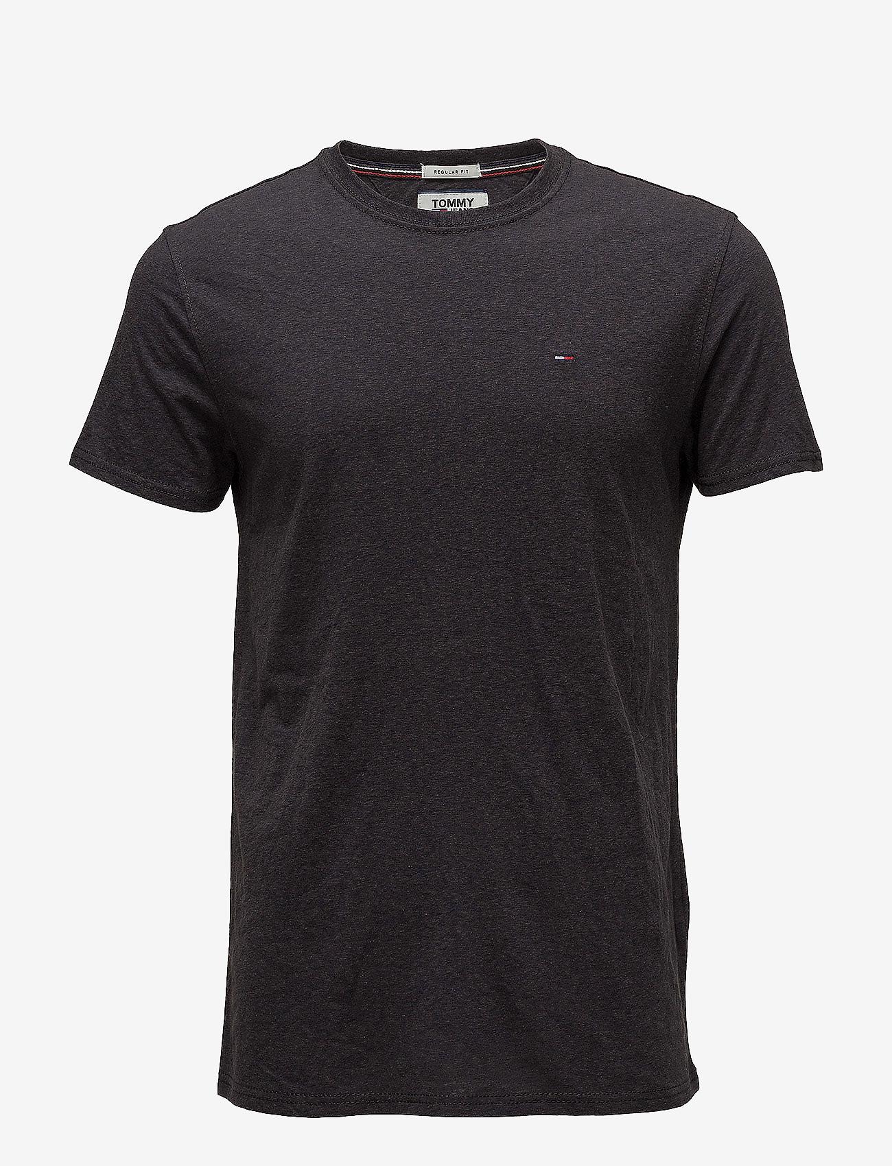 Tommy Jeans - TJM ORIGINAL TRIBLEND TEE - basic t-shirts - tommy black - 0