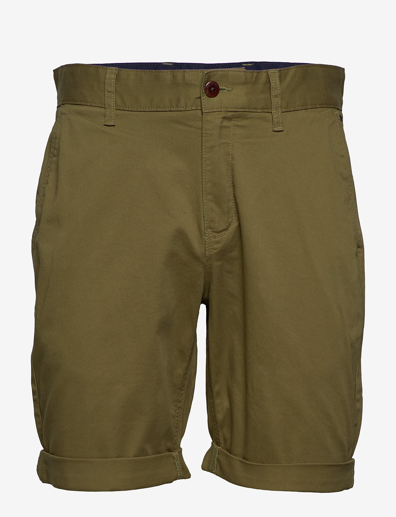 Tommy Jeans - TJM ESSENTIAL CHINO SHORT - chinos shorts - uniform olive - 0