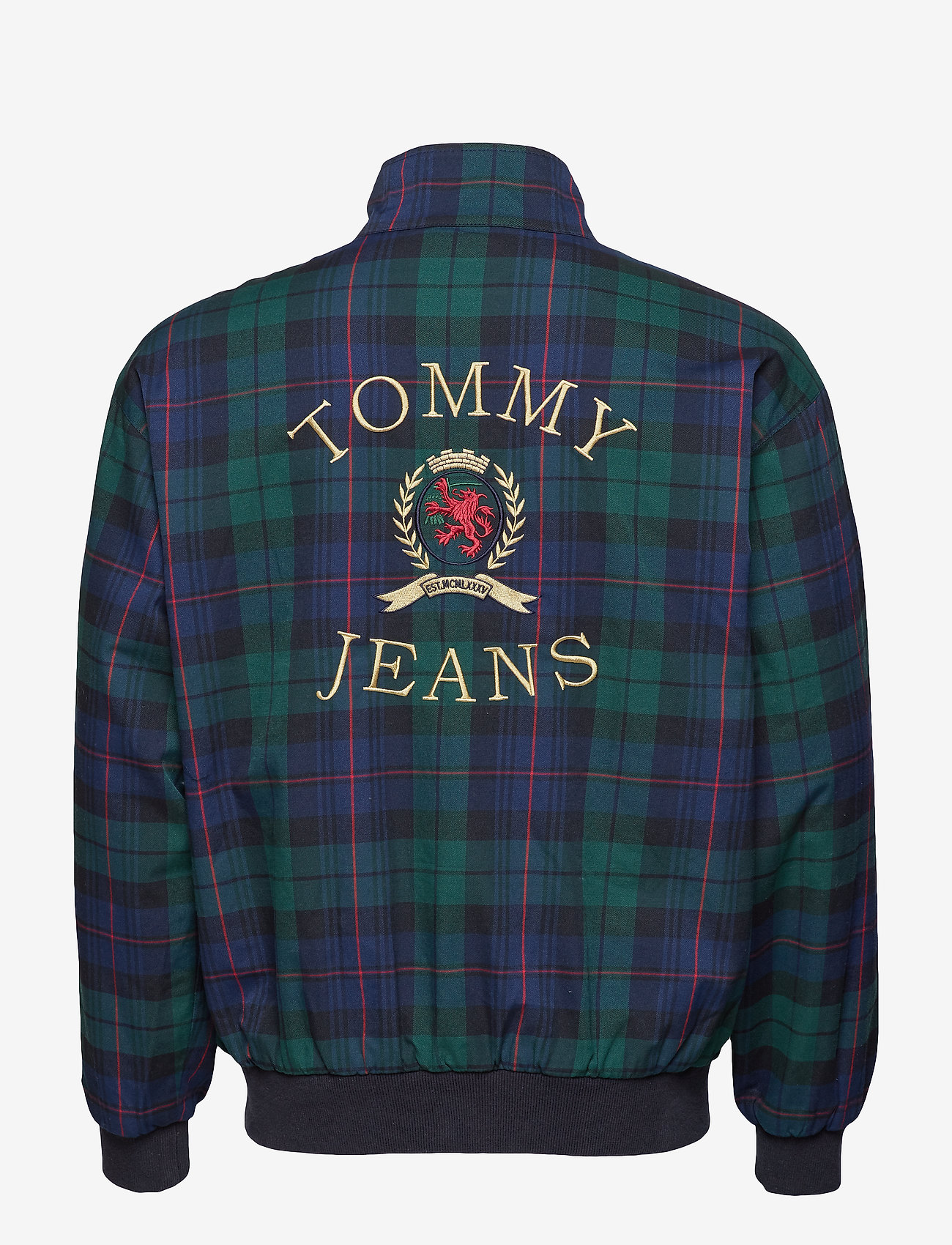 Tommy Jeans - TJM PLAID CREST HARR - bomberjackor - check dark sapphire / multi - 1
