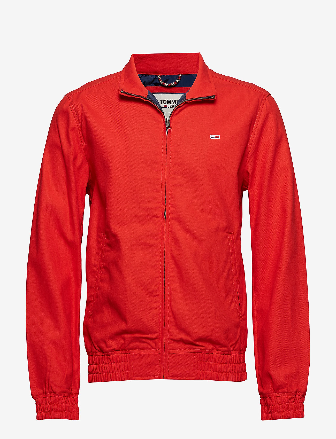 Tommy Jeans - TJM CASUAL COTTON JACKET - light jackets - flame scarlet - 0