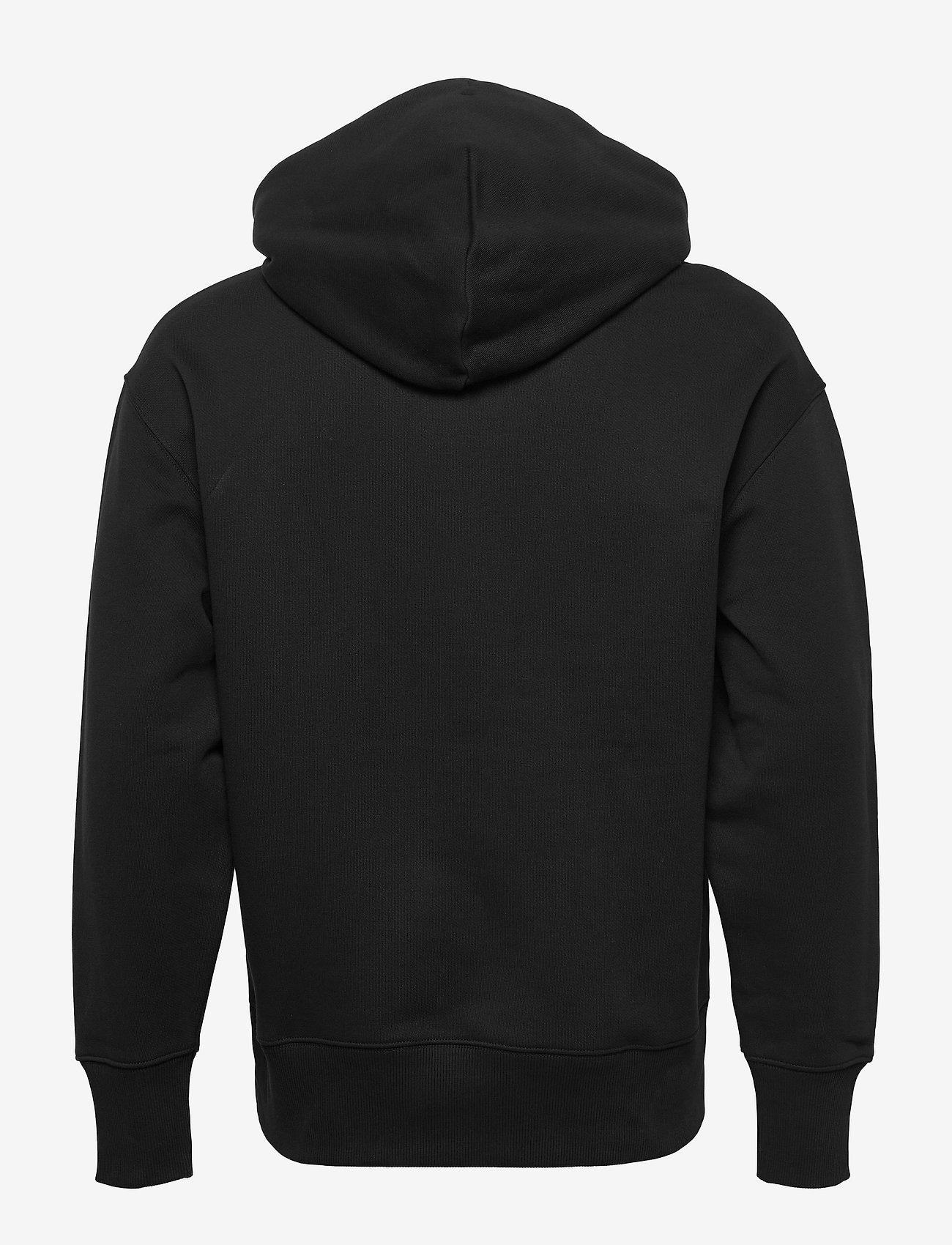 Tommy Jeans - TJM TOMMY BADGE HOODIE - hoodies - black - 1