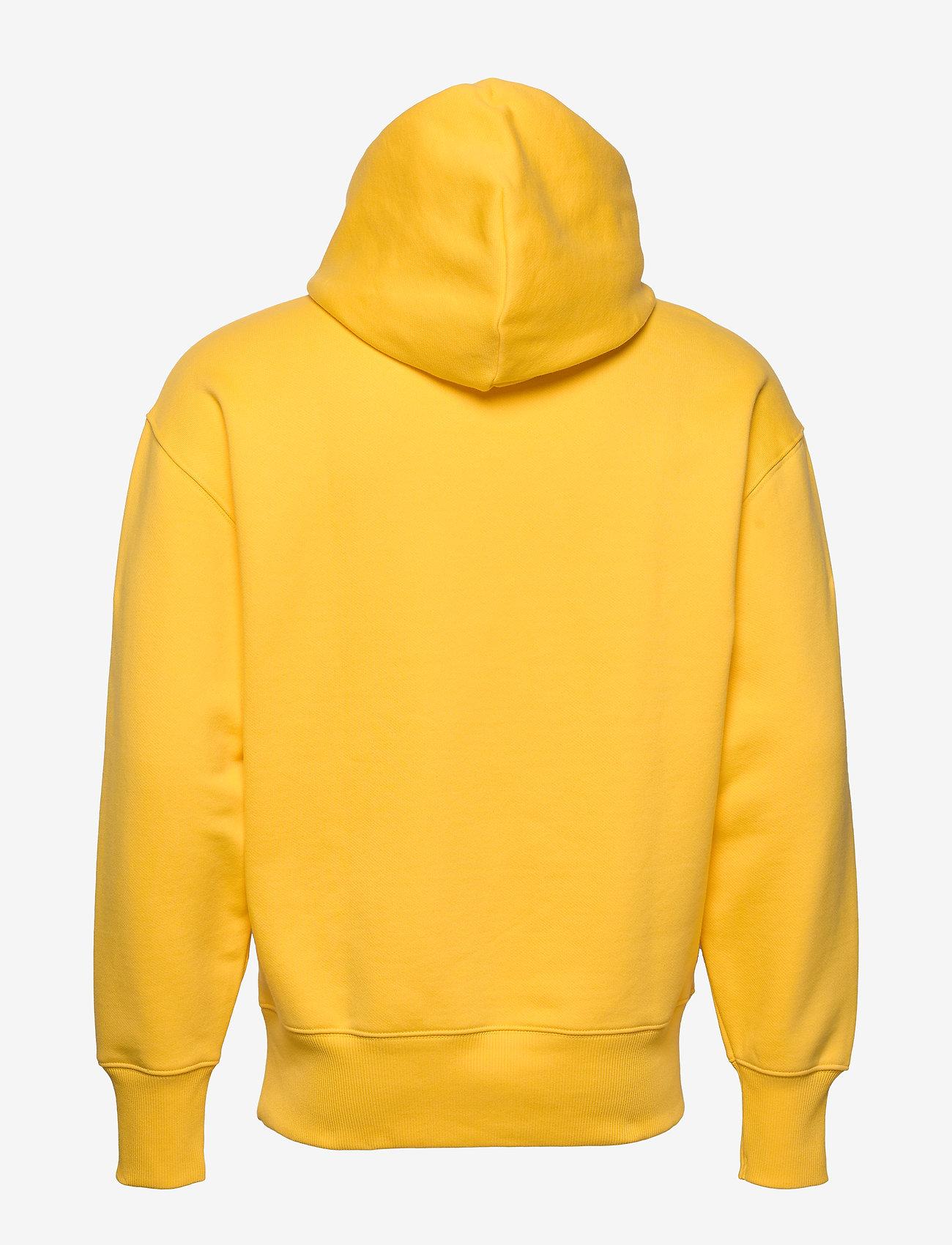 Tommy Jeans - TJM TOMMY BADGE HOODIE - hoodies - starfruit yellow - 1