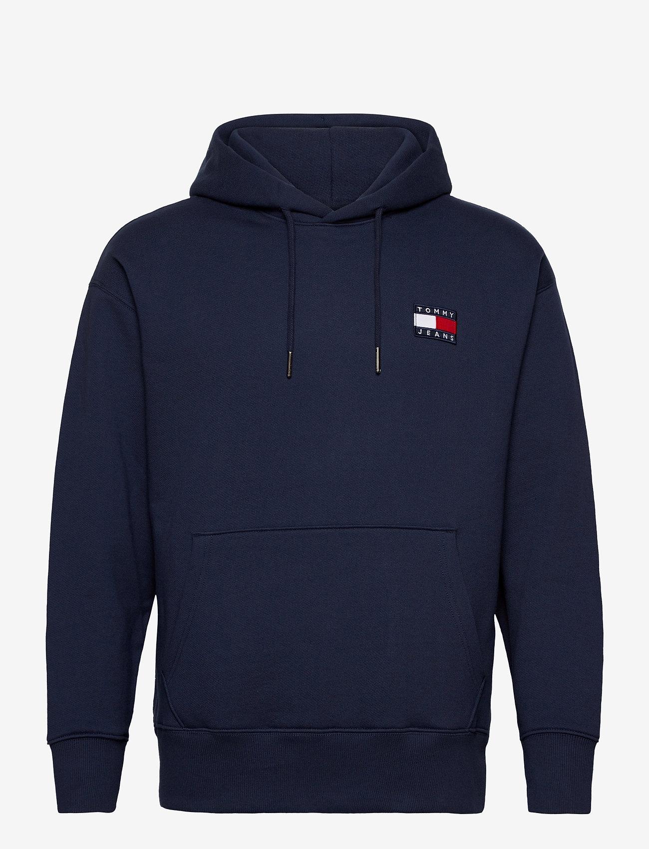Tommy Jeans - TJM TOMMY BADGE HOODIE - hoodies - twilight navy - 0