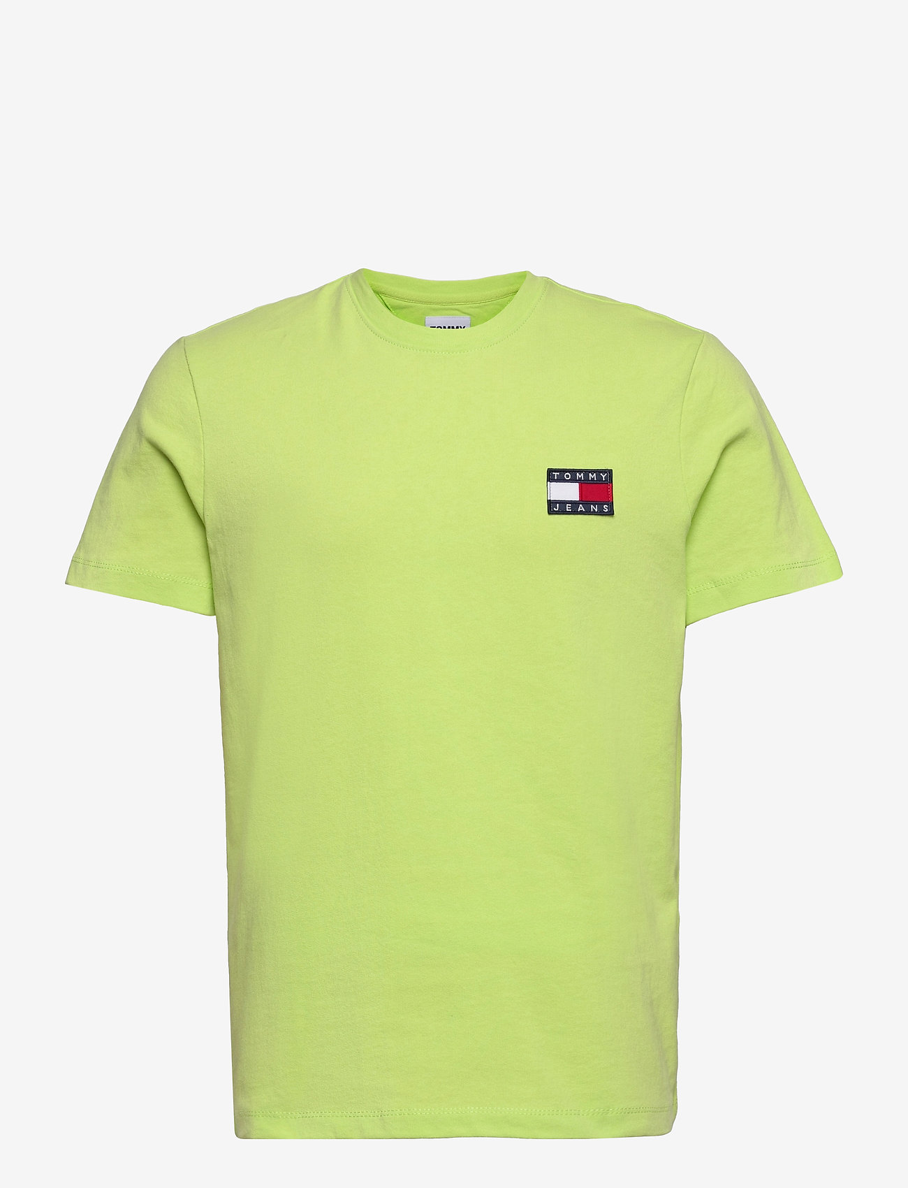 Tommy Jeans - TJM TOMMY BADGE TEE - basic t-shirts - faded lime - 0