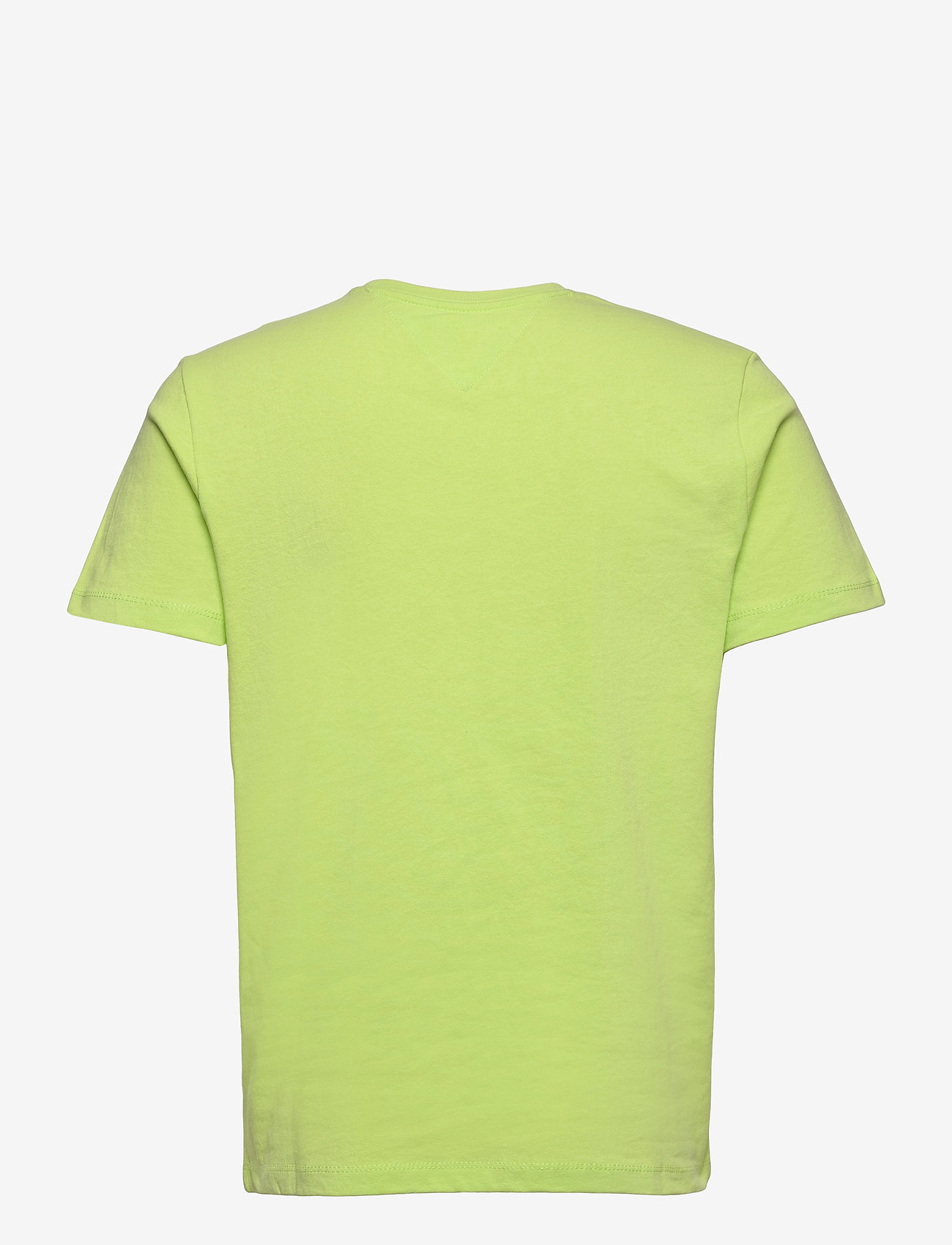 Tommy Jeans - TJM TOMMY BADGE TEE - basic t-shirts - faded lime - 1