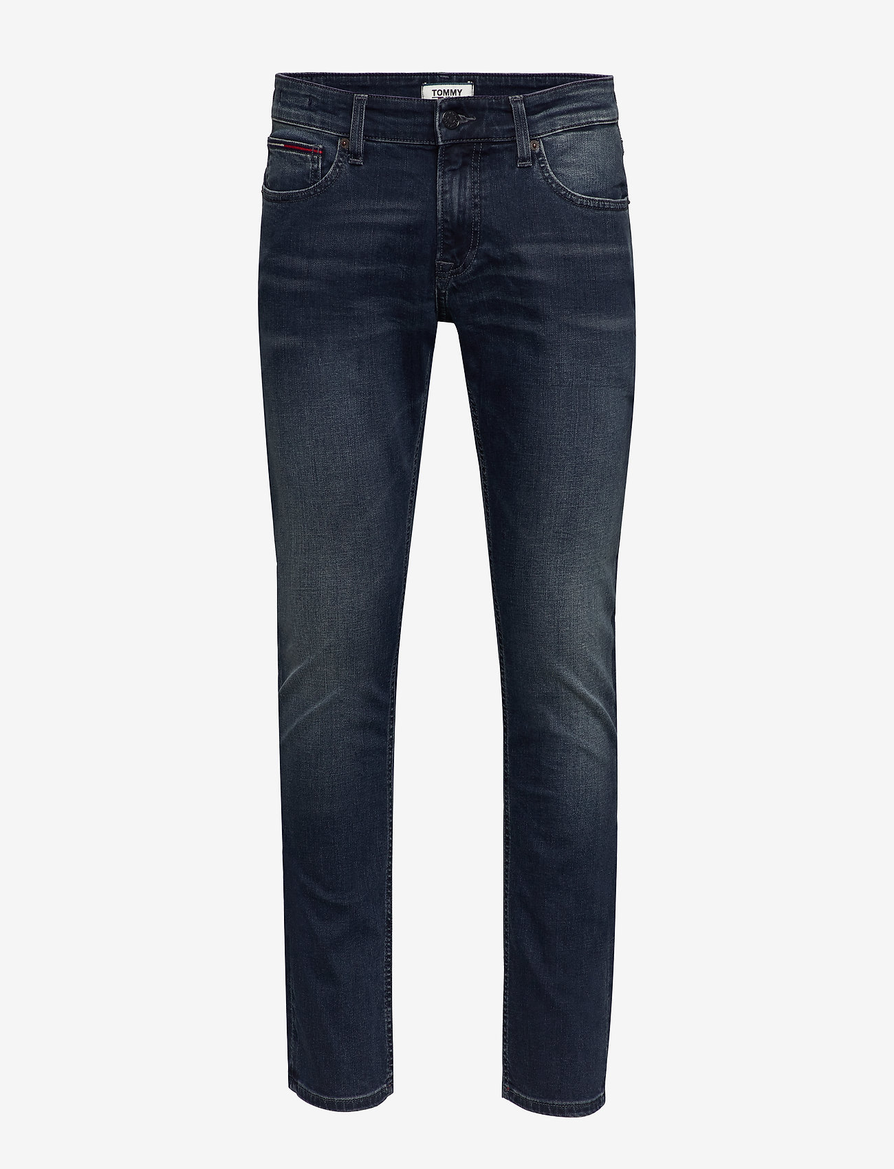 Tommy Jeans - SCANTON SLIM UTDK - slim jeans - utica dk bl str - 0