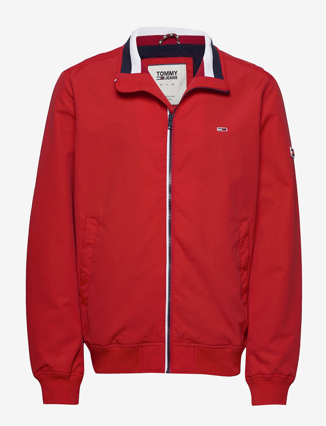 Tommy Jeans - TJM ESSENTIAL BOMBER - bomber jackets - racing red - 0