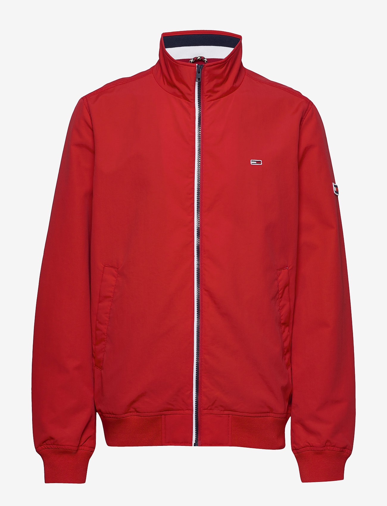 Tommy Jeans - TJM ESSENTIAL BOMBER - bomber jackets - racing red - 1