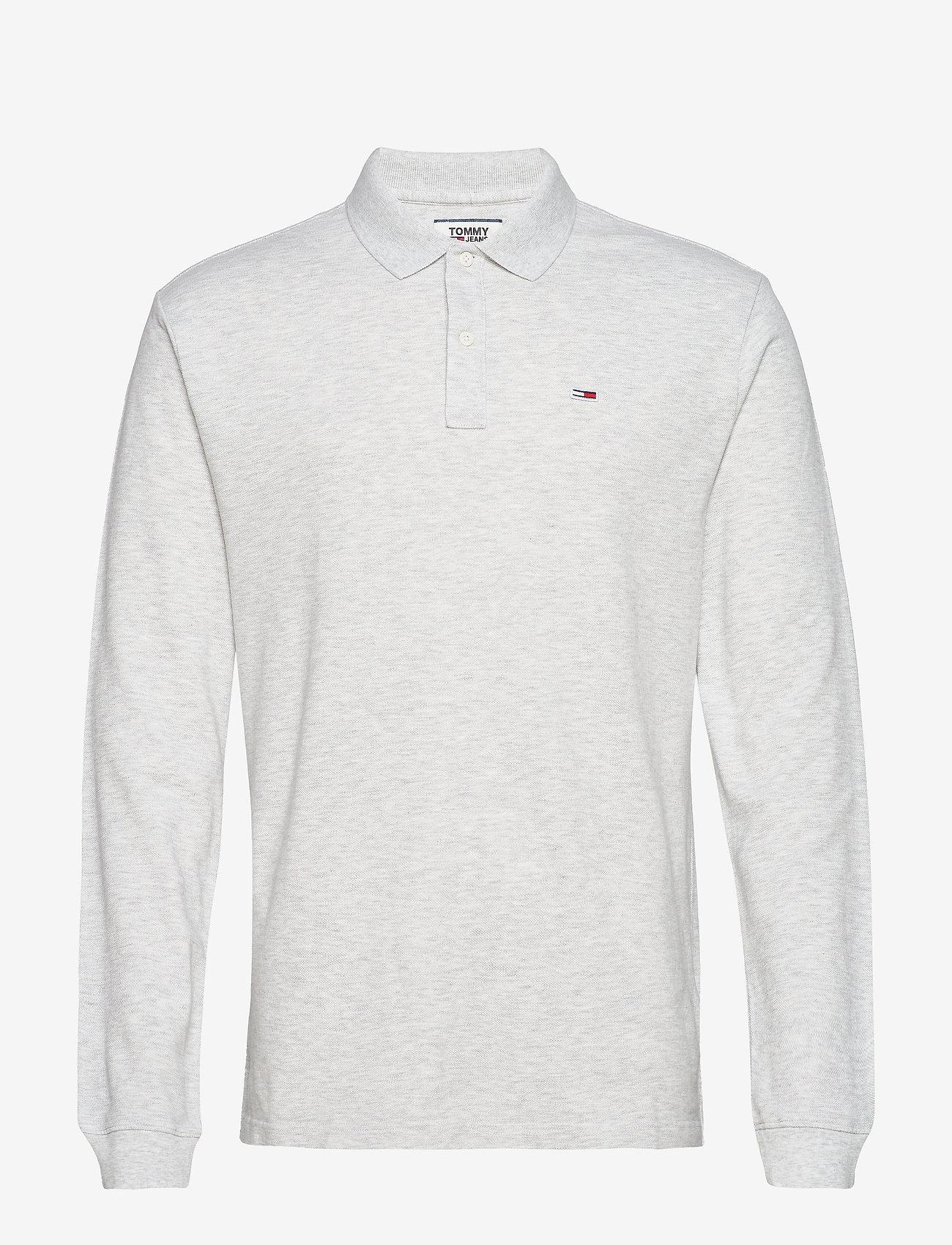Tommy Jeans - TJM CLASSICS LONGSLE - langärmelig - pale grey htr - 0