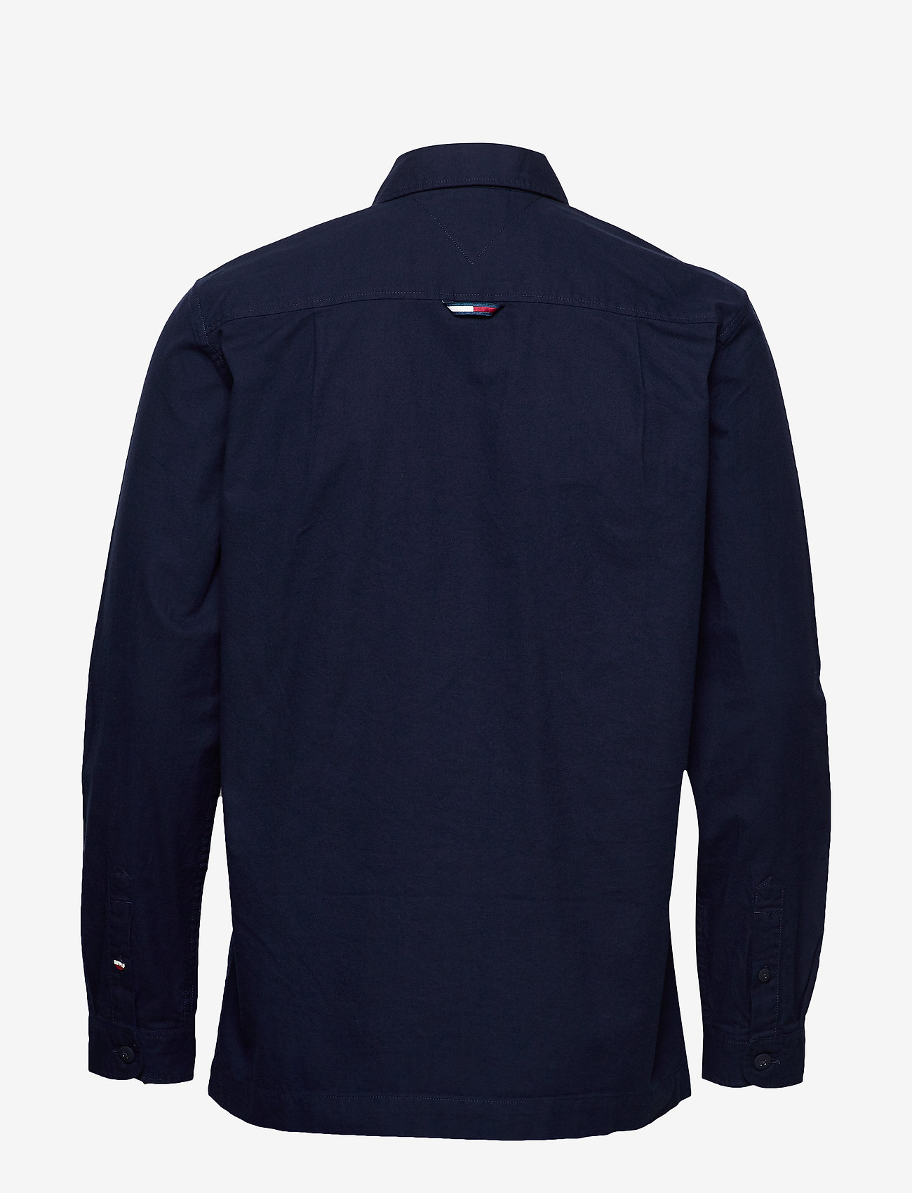Tommy Jeans - TJM VELCRO OVERSHIRT - light jackets - black iris - 1