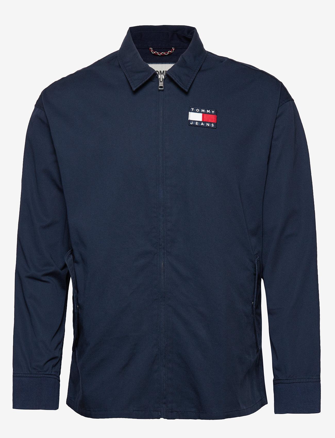 Tommy Jeans - TJM CASUAL COTTON JA - light jackets - twilight navy - 0