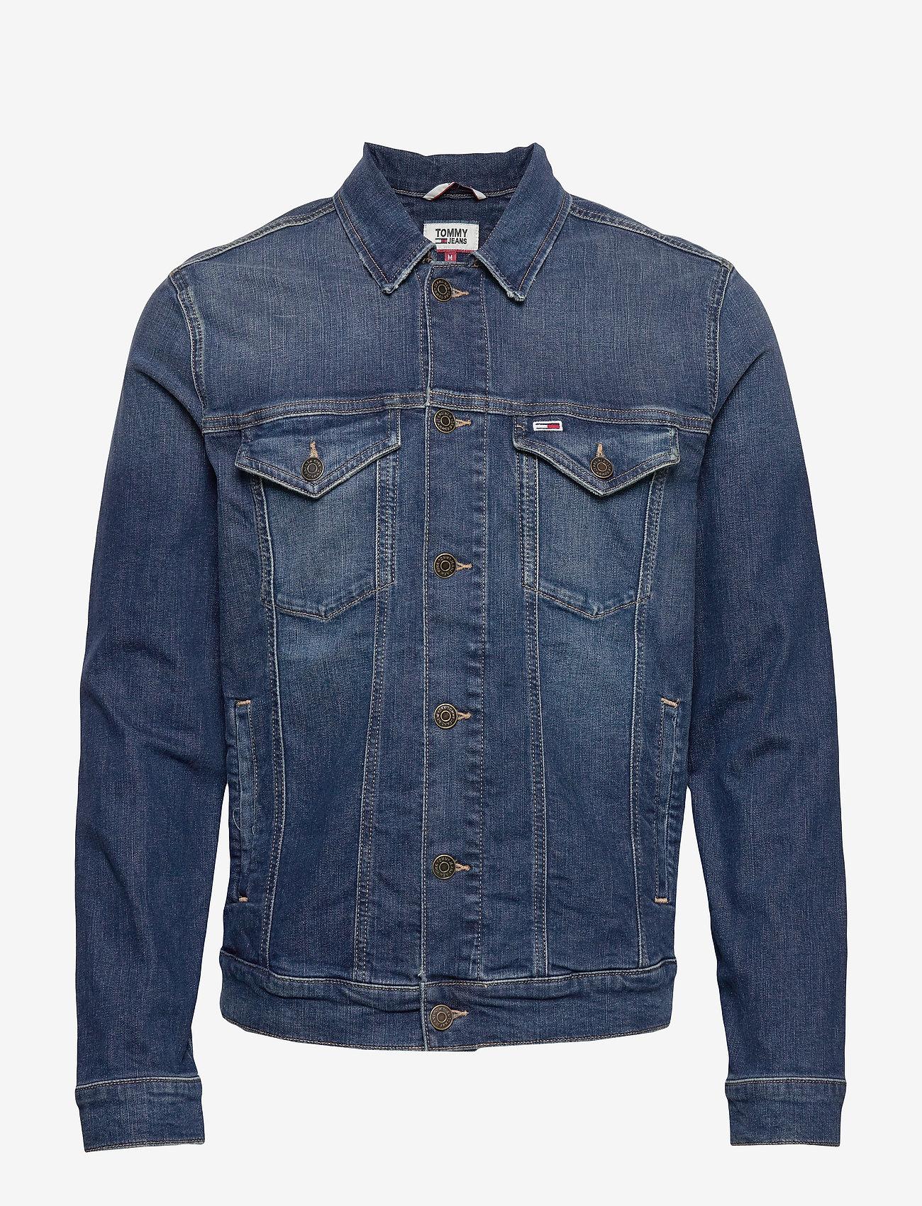 Tommy Jeans - REGULAR TRUCKER JACK - farkkutakit - devi dk bl com - 0