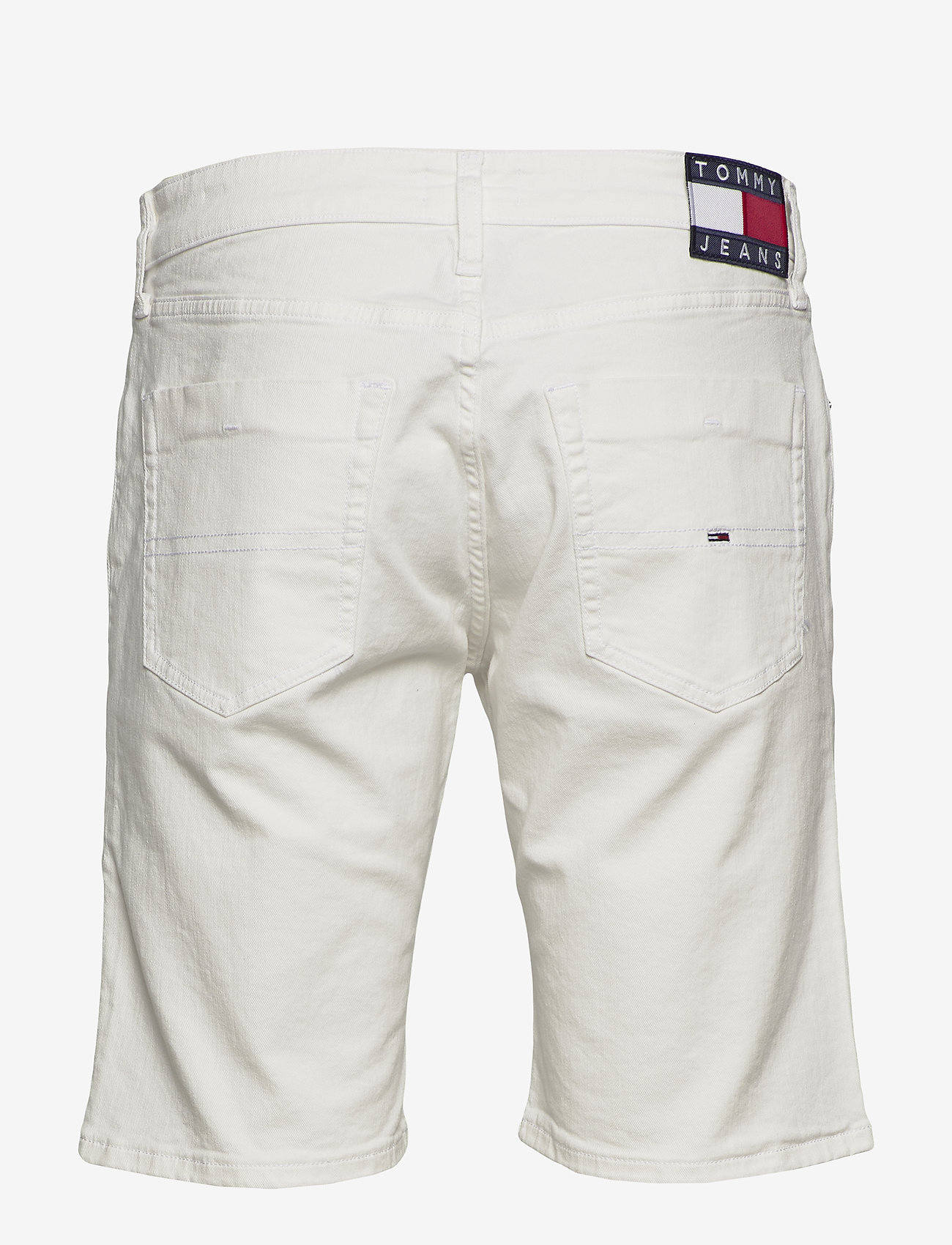 Tommy Jeans - SCANTON HERITAGE SHORT MRWH - denim shorts - mars white com - 1