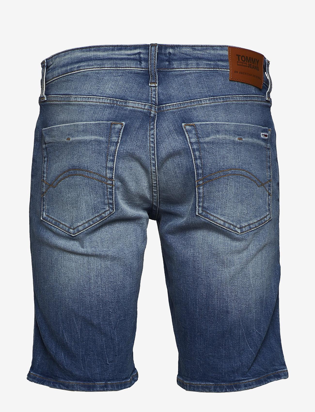 Tommy Jeans - SCANTON SLIM SHORT C - short en jean - court mid bl str - 1