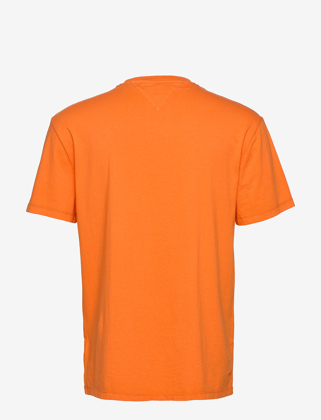Tommy Jeans - TJM WHITE BOX LOGO TEE - short-sleeved t-shirts - bonfire orange - 1