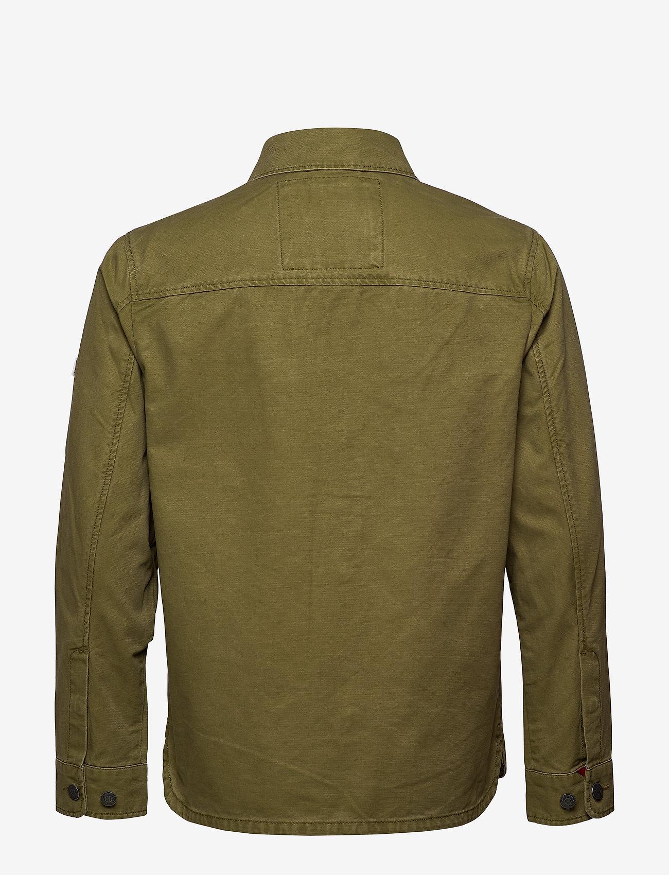Tommy Jeans - TJM COTTON CARGO JACKET - denim jackets - uniform olive - 1